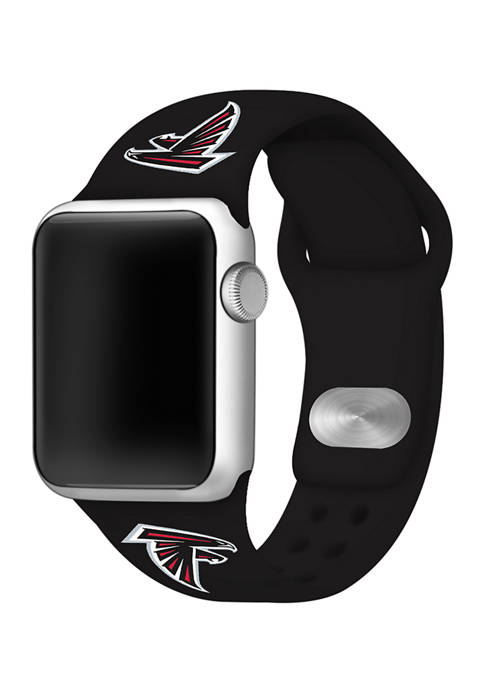 NFL Atlanta Falcons Silicone 38 Millimeter Apple Watch Band