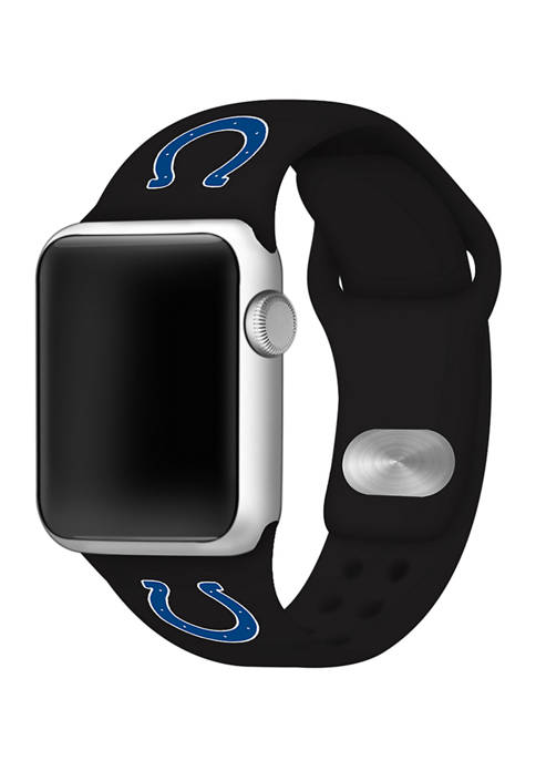 NFL Indianapolis Colts Silicone 38 Millimeter Apple Watch Band