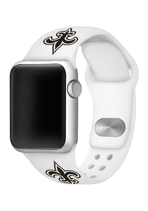 NFL New England Patriots Silicone Apple Watch Band