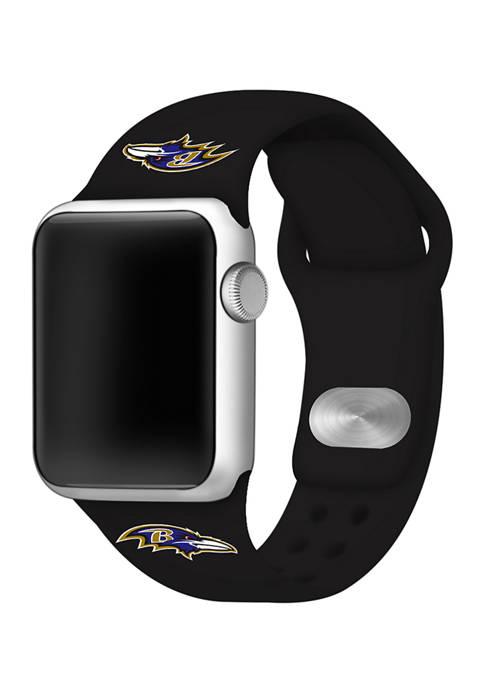Game Time® NFL Baltimore Ravens 42 Millimeter Silicone