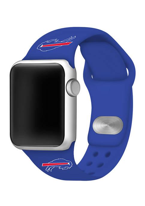 NFL Buffalo Bills 42 Millimeter Silicone Apple Watch Band
