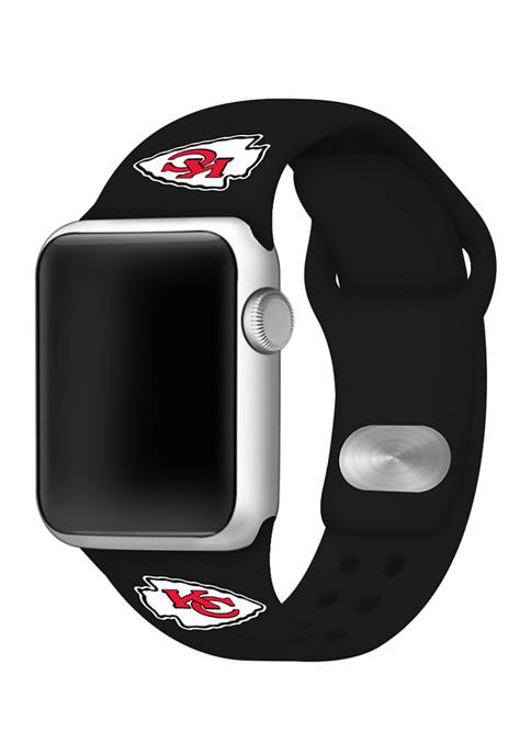 NFL Kansas City Chiefs 42 Millimeter Silicone Apple Watch Band