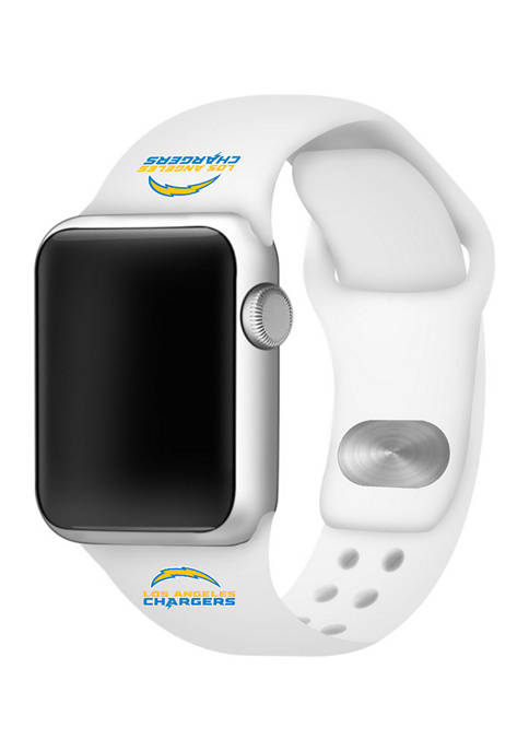 NFL Los Angeles Chargers 42 Millimeter Silicone Apple Watch Band