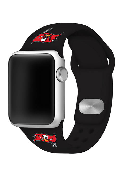 NFL Tampa Bay Buccaneers 42 Millimeter Silicone Apple Watch Band