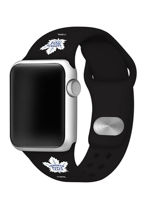 NHL Toronto Maple Leafs 38 Millimeter Silicone Apple Watch Band