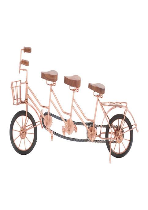 Metal Vintage Bicycle Sculpture