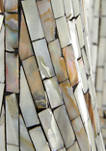 Mother of Pearl Abstract Sculpture