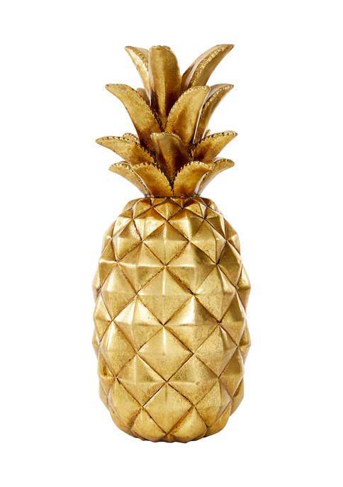 Polystone Traditional Decorative Pineapple