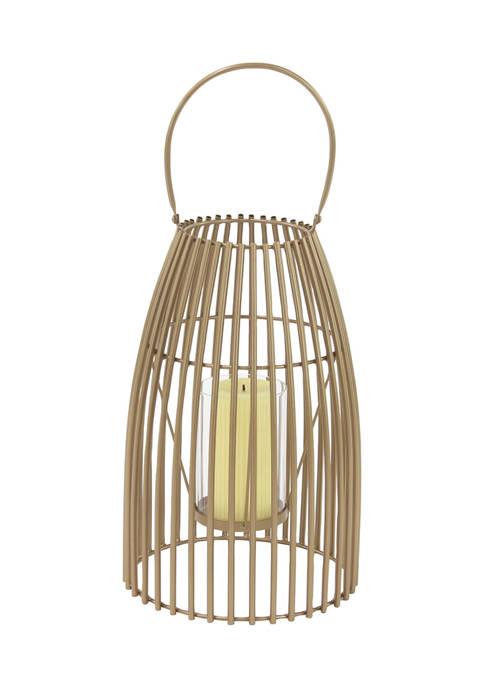 Monroe Lane Iron Contemporary Lantern