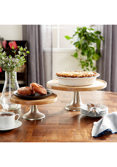 Cake Plate  - Set of 3