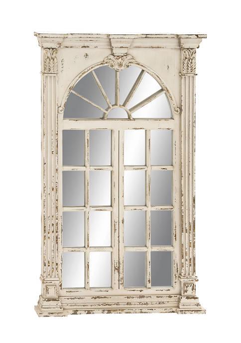Monroe Lane Extra Large Rectangular Antique White Window
