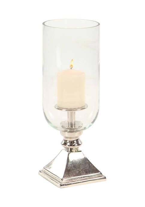 Monroe Lane Aluminum Traditional Hurricane Lamp