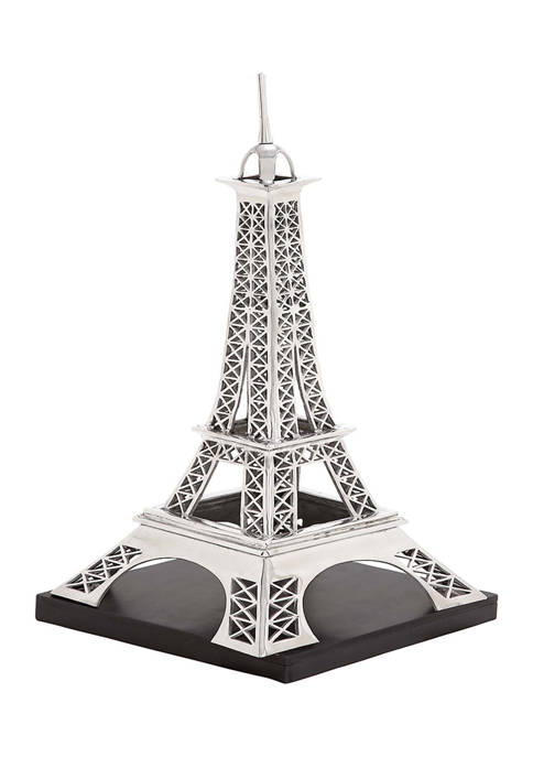 Monroe Lane Aluminum Eiffel Tower Sculpture