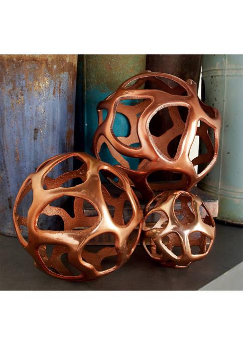 Monroe Lane Modern Free-Form Aluminum Balls