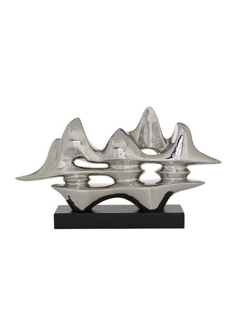 Monroe Lane Porcelain Abstract Sculpture