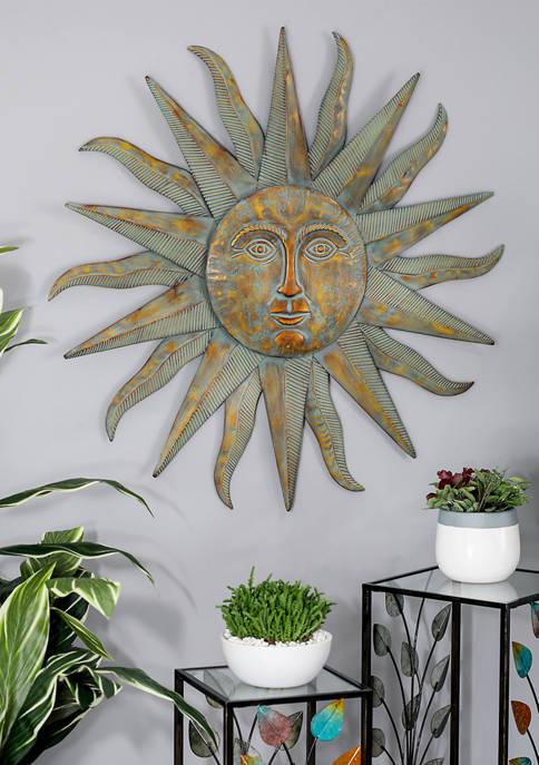 Monroe Lane Golden Sun Wall Art