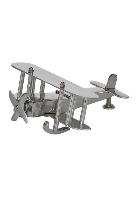Monroe Lane Aluminum Modern Plane Sculpture