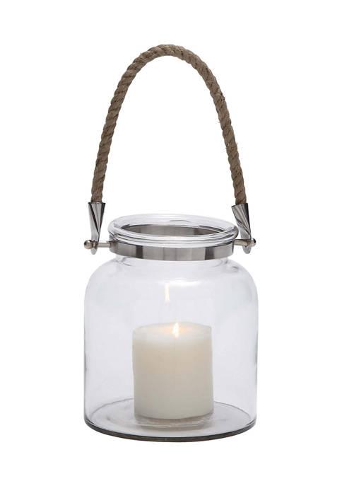 Monroe Lane Glass Coastal Lantern