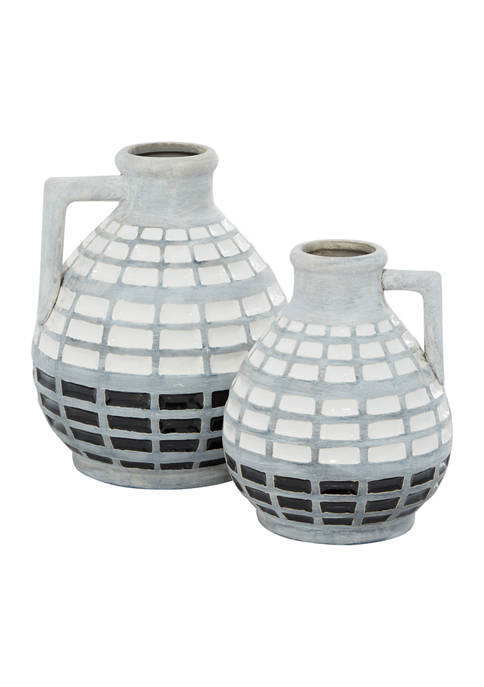 Monroe Lane Ceramic Coastal Vase