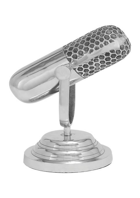 Monroe Lane Aluminum Traditional Sculpture Microphone