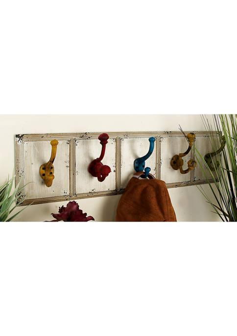 Wooden Metal Wall Hook