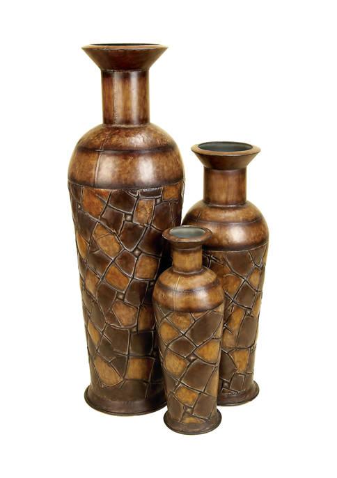 Monroe Lane Set of 3 Traditional Bronze Patina