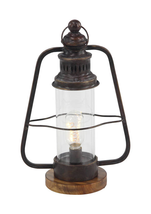 Monroe Lane Iron Industrial Lantern