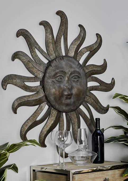 Monroe Lane Metal Sun Wall Art