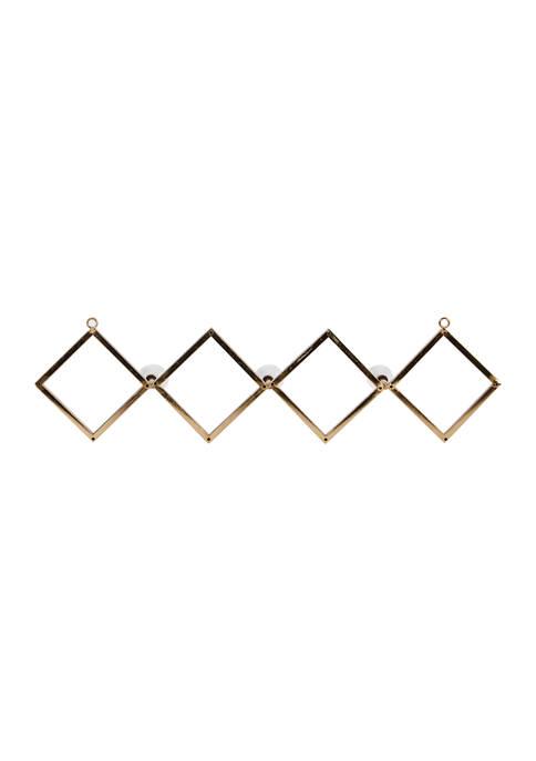 Monroe Lane Set of 3 Gold Metal Wall