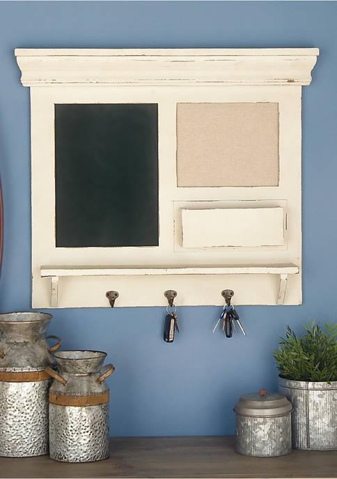Monroe Lane Wooden Metal Wall Shelf