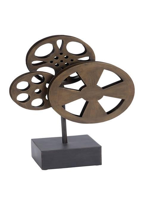 Monroe Lane Metal Vintage Camera Sculpture