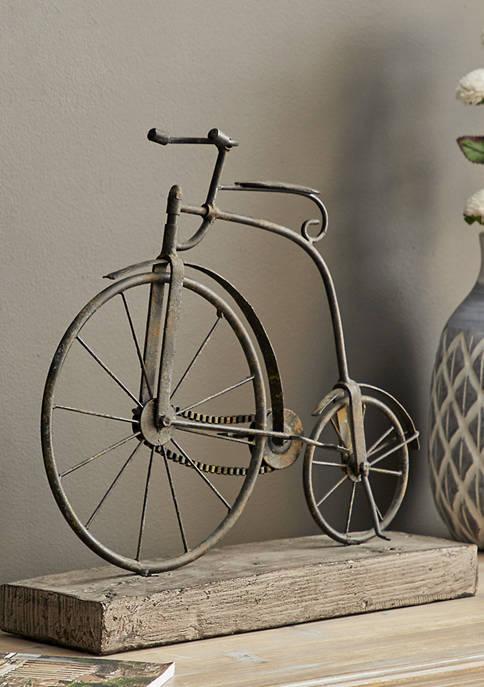 Monroe Lane Metal Wooden Bicycle
