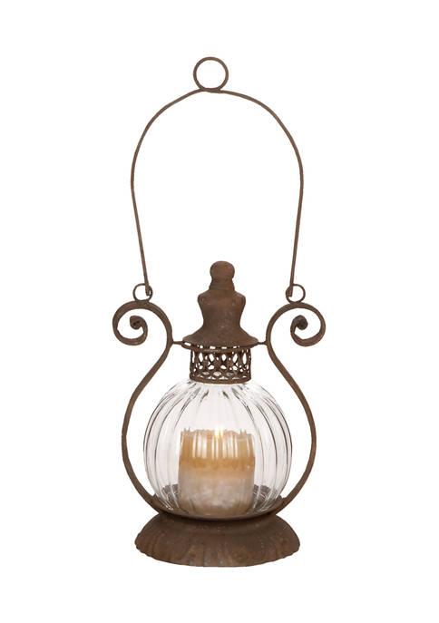 Monroe Lane Iron Rustic Lantern