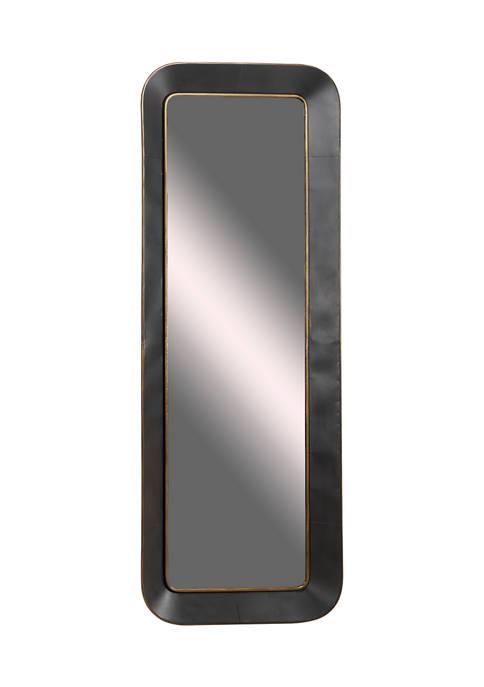 Monroe Lane Large Rectangular Metal Wall Mirror with
