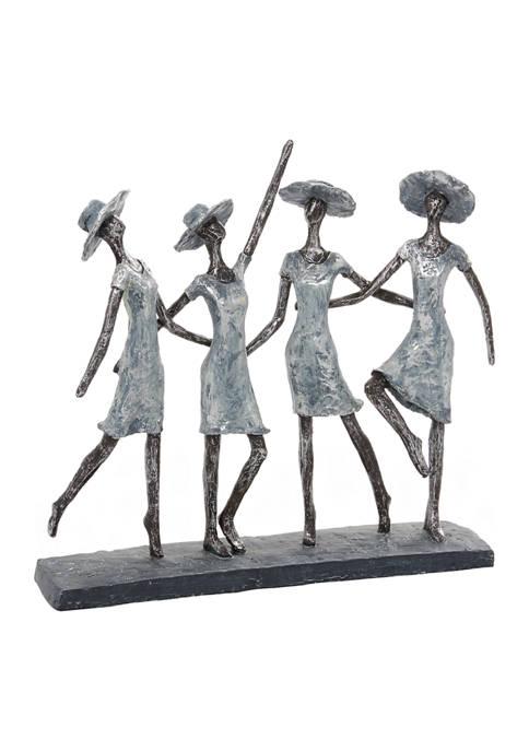 Monroe Lane Polystone Traditional Sculpture Ladies