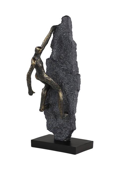 Resin Industrial Sculpture - Climbing