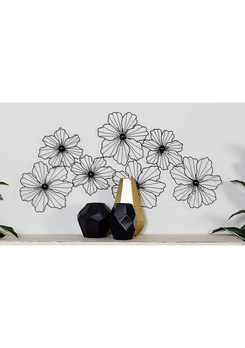 Petal Flowers Montage Wall Sculpture