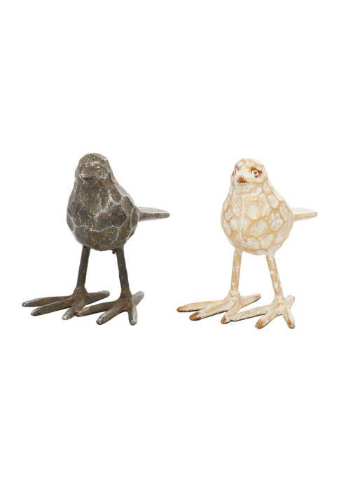 Monroe Lane Set of 2 Metal Farmhouse Bird