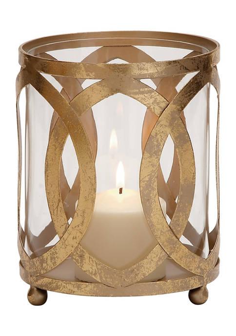 Monroe Lane Iron Glam Lantern