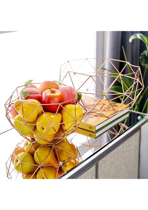 Monroe Lane Modern Geometric Baskets Bowls