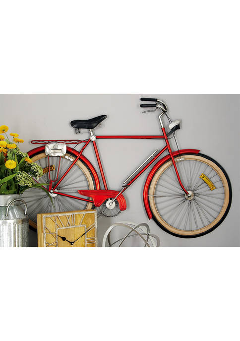 Monroe Lane Eclectic Metal Bicycle Wall Décor