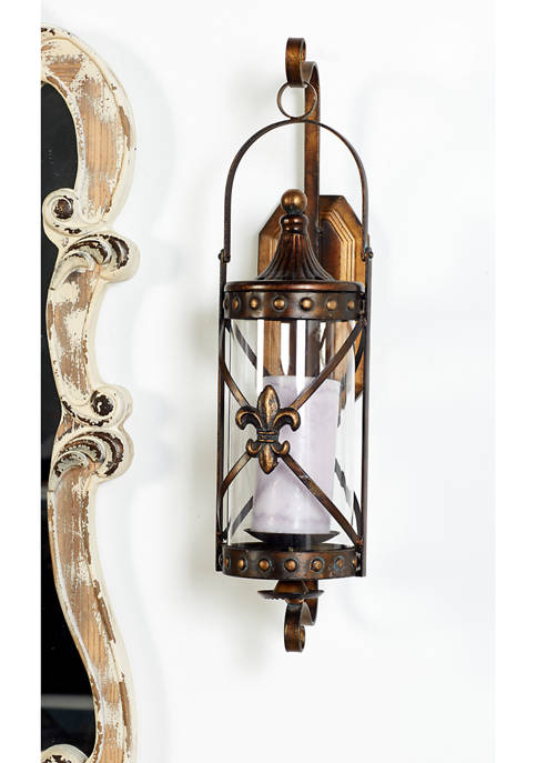Metal Candle Sconce