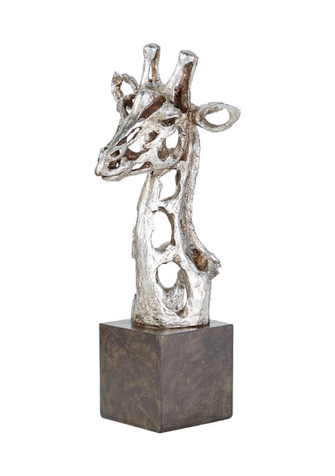 Monroe Lane Eclectic Polystone Giraffe Sculpture