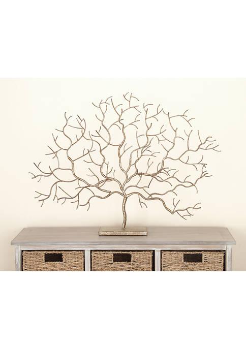 Monroe Lane Natural Metal Tree Sculpture