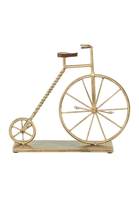 Monroe Lane Metal Traditional Bicycle Sculpture
