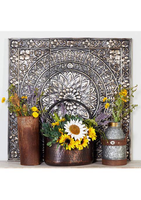 Floral Victorian Style Ceiling Tile Design