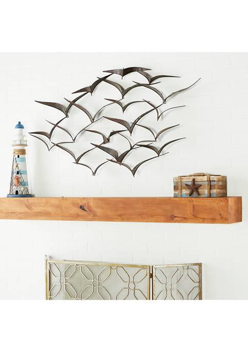 Monroe Lane Metal Birds Wall Décor