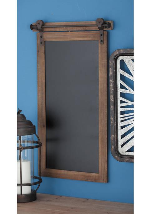 Monroe Lane Wooden Metal Chalkboard