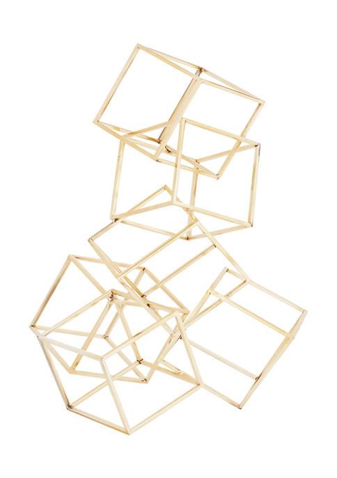 Monroe Lane Metal Modern Geometric Sculpture
