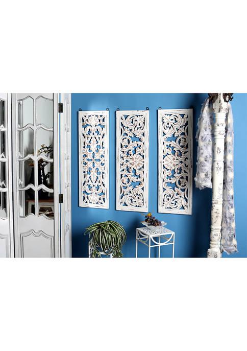 Wood Wall Panel - Set of 3